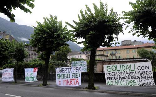 Lugano, Switzerland - On the trial of Billy Costa and Silvia and the week of action